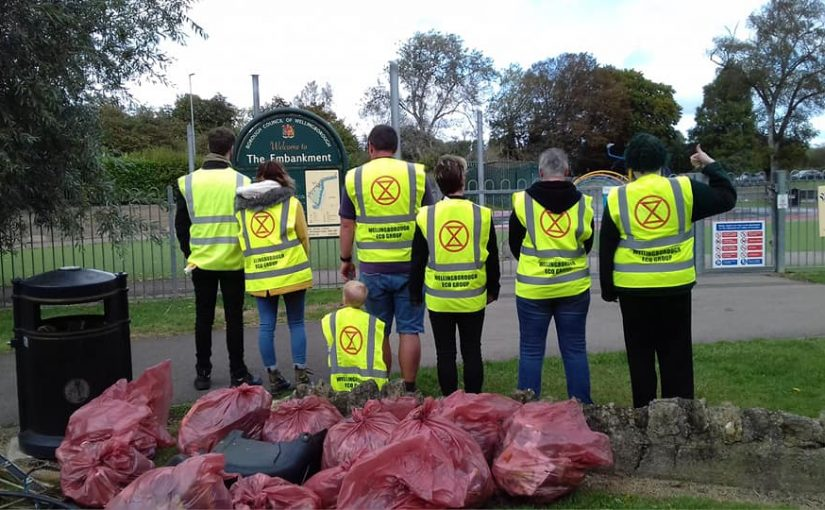 Litter Picking The Embankment
