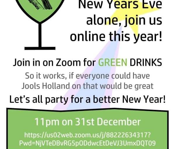 New Year Green Drinks