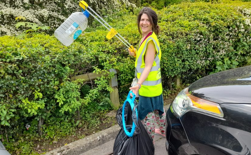 Litter Picking our Town Centre