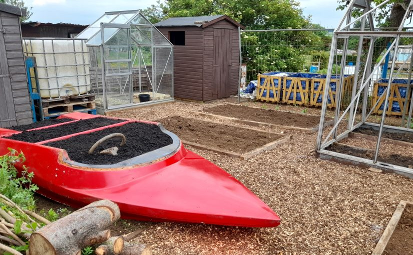 Community Allotment Gets A Speed Boat