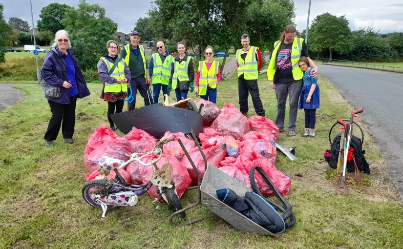Litter Picking at Queensway Park