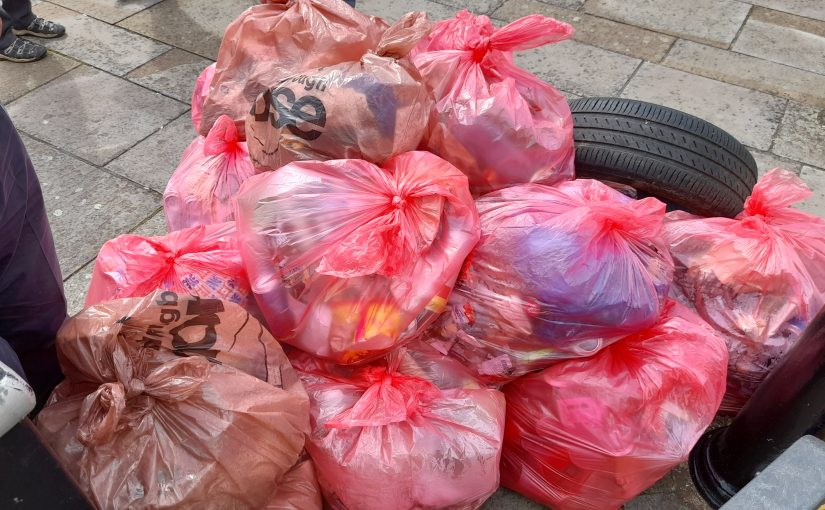 Litter Picking in our Town Centre
